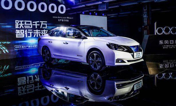Sylphy | Dongfeng Nissan | inicio su producción en China