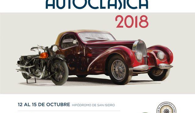 Autoclásica | 2018| del 12 al 15 de octubre…