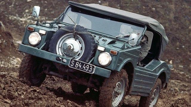 597 Jagdwagen | Porsche | un extraño pero útil todo terreno