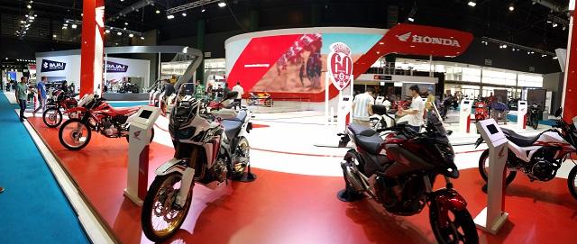 Honda | su stand en el Salon Moto 2018
