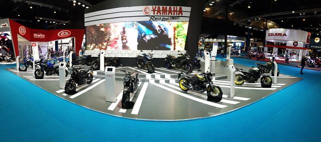 Yamaha | su stand en el Salon Moto 2018