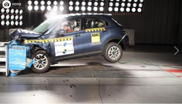 500X | Fiat | LatinNcap | máximo puntaje para el SUV compacto