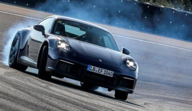 911   Porsche   en programa de pruebas