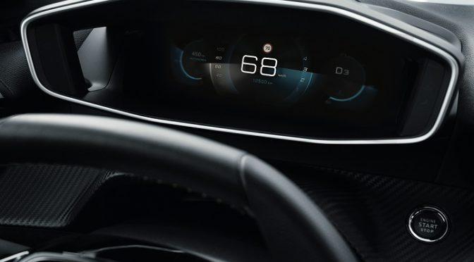 I-Cockpit 3D   Peugeot   Así será el instrumental del futuro 208