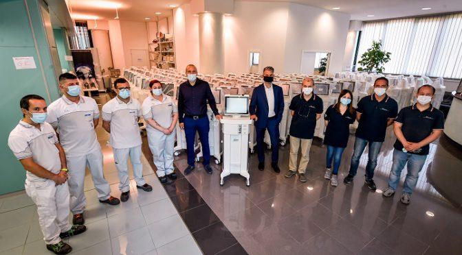 FCA | Italia | RSE | Se produjeron más de 3.000 respiradores