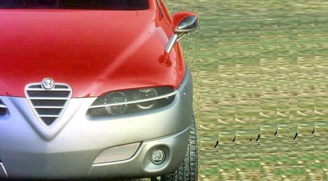 Sportut Concept | Alfa Romeo | hace 23 años estaba en modo SUV