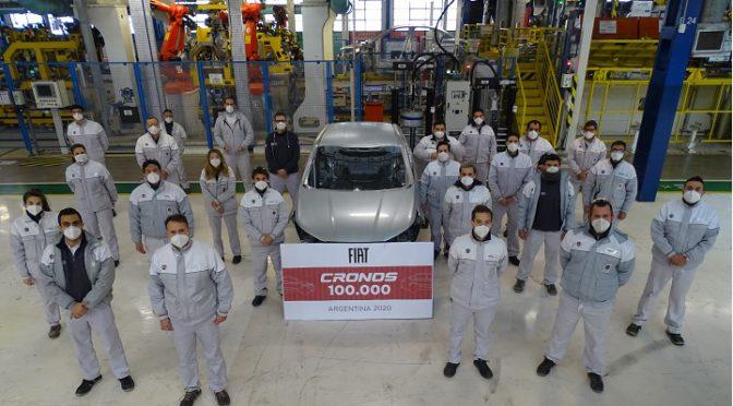 FCA | alcanza la producción de 100mil Fiat Cronos nacionales