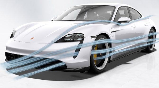 Taycan | Porsche | El mejor coeficiente aerodinámico de la marca