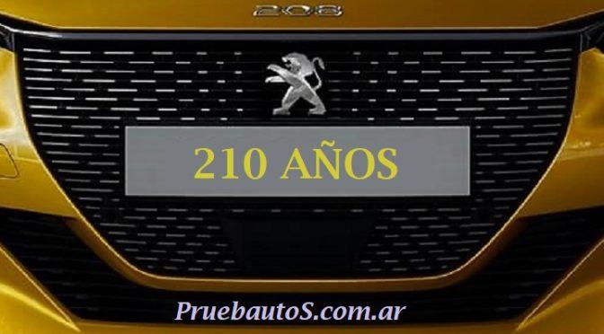 Peugeot | Cumple 210 años de existencia