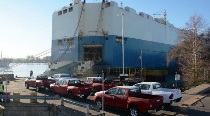 Toyota | un millón de unidades exportadas desde Zárate