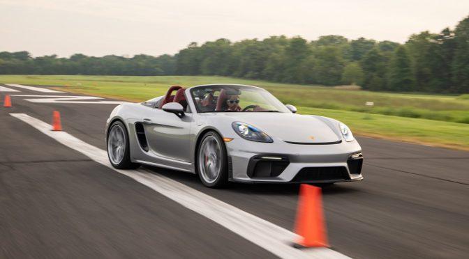 718 Spyder | Porsche | establece Récord Mundial Guinness en slalom