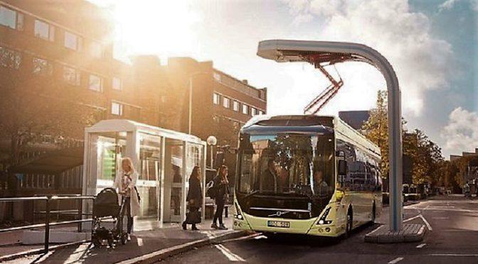 Volvo Buses | Eléctricos | Sus baterías se reutilizarán para almacenar energía
