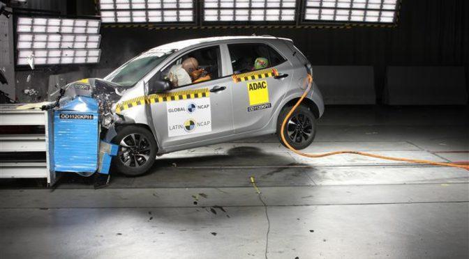 Kia Picanto | Latin NCAP | Nuevamente cero estrellas