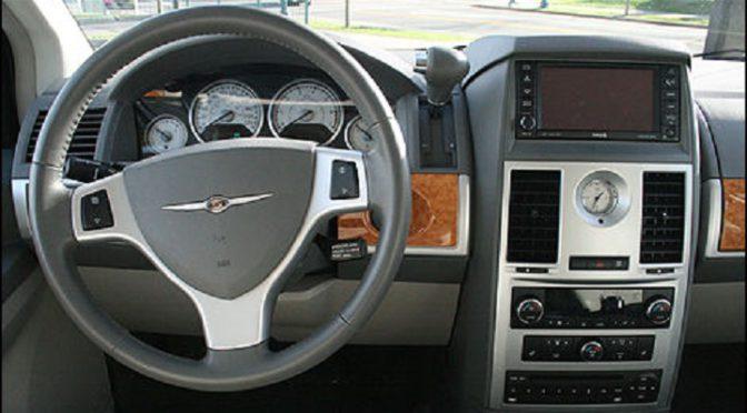 Town & Country | Chrysler | Recall | Una revisión por un emblema