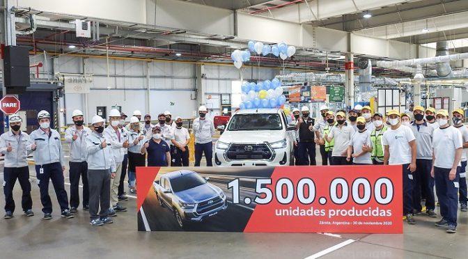 TOYOTA | ARGENTINA | Alcanzó la producción de 1500000 de vehículos