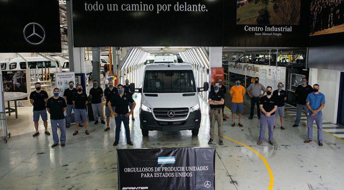 Sprinter | Mercedes-Benz Argentina | Rumbo a EEUU